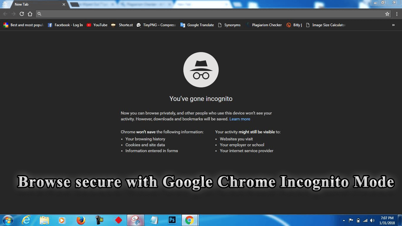 How to keep Google Chrome Incognito Mode as default